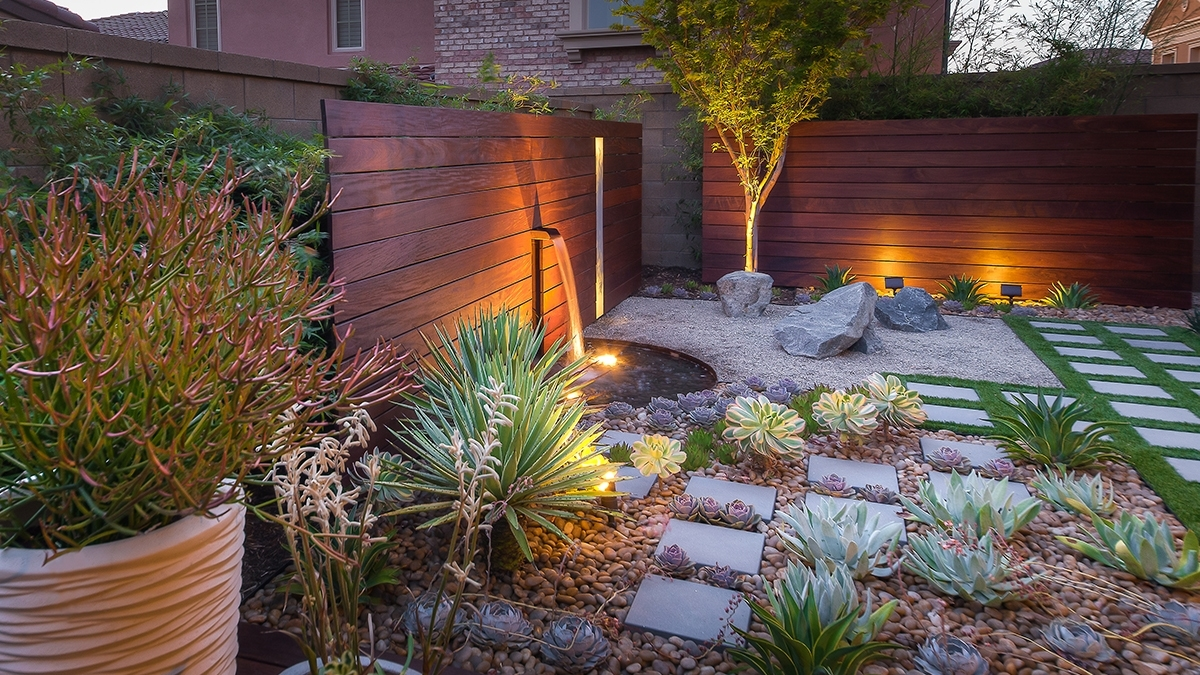 Small Space, Big Solutions: Waterwise Walled Garden | Grow Beautifully within Zen Gardens For Small Spaces