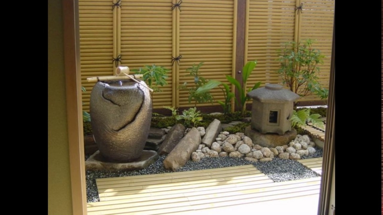 Small Zen Garden Ideas - Youtube inside Zen Garden Ideas And Photos