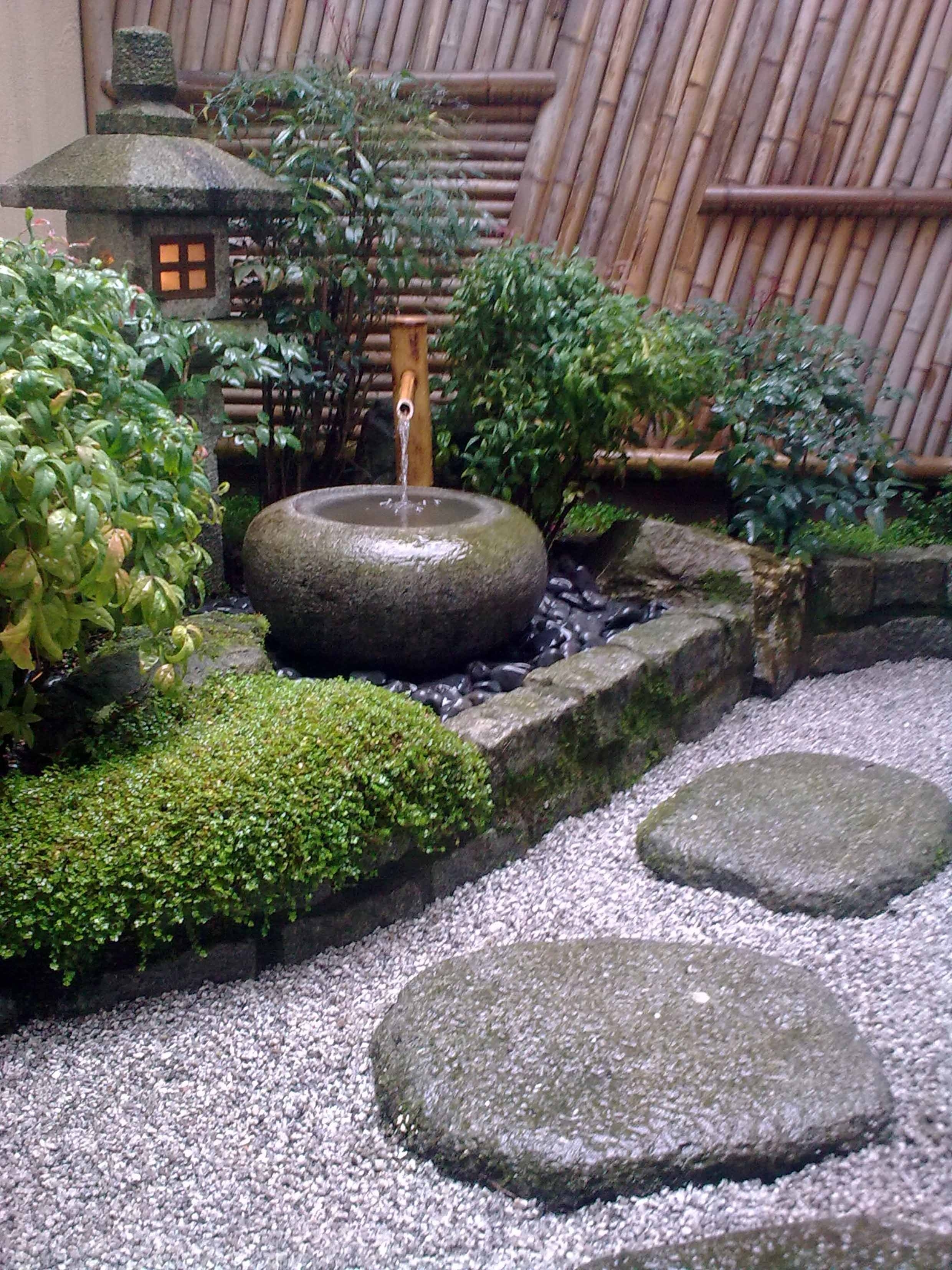 Traditional Japanese Courtyard | Garden Pretties & How-To | Zen for Zen Garden Designs For Small Spaces
