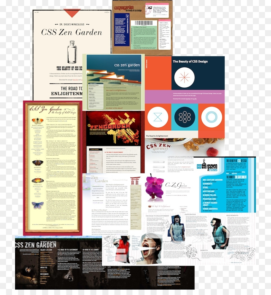 Web Page Css Zen Garden Web Design Page Layout - Web Design Png with Zen Garden Web Design