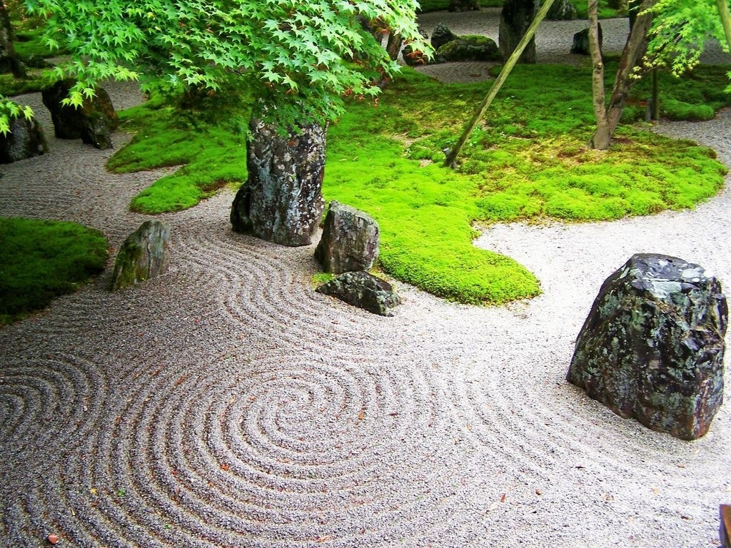 Zen Design Principles | Garden Structures | Zen Rock Garden with regard to Zen Garden Design Principles