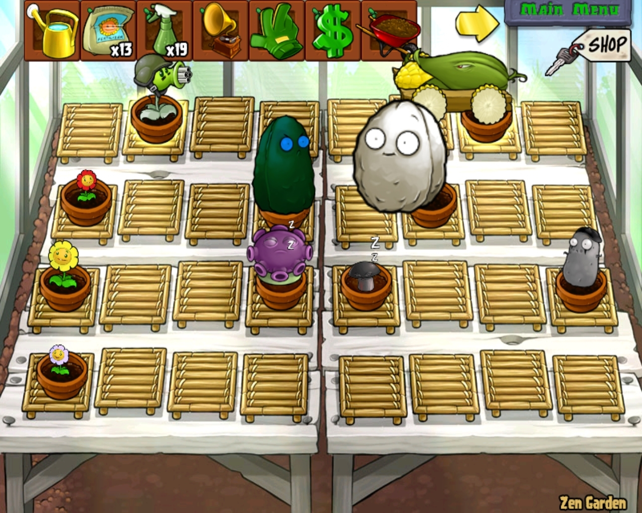 Zen Garden Plants Vs Zombies 2 regarding Zen Garden Plants Vs Zombies Ds