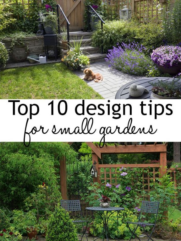 Garden Design Tips For Small Gardens