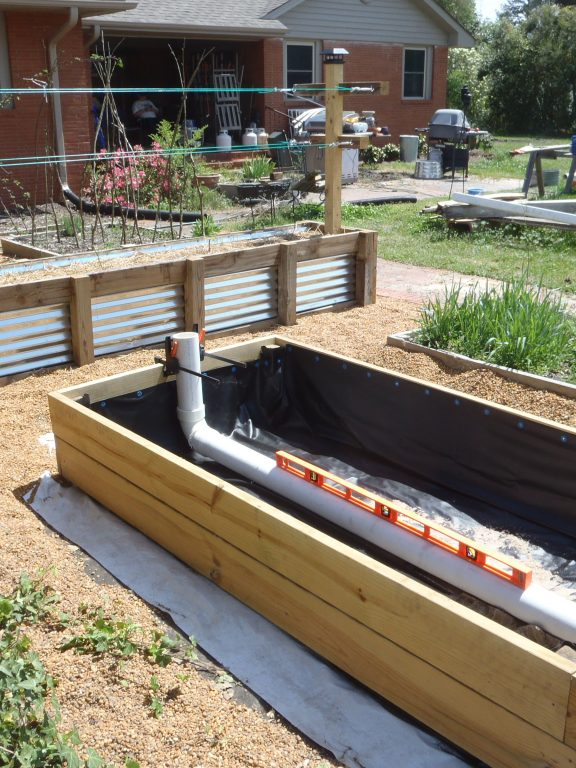Hydroponic Raised Bed Garden