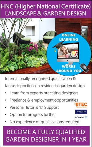 Landscape Garden Design Qualifications