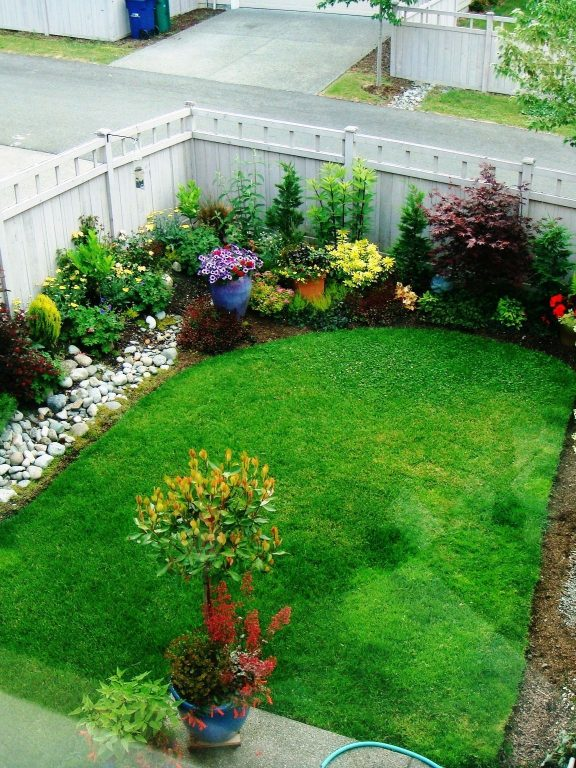 Landscape Garden Ideas For Small Gardens