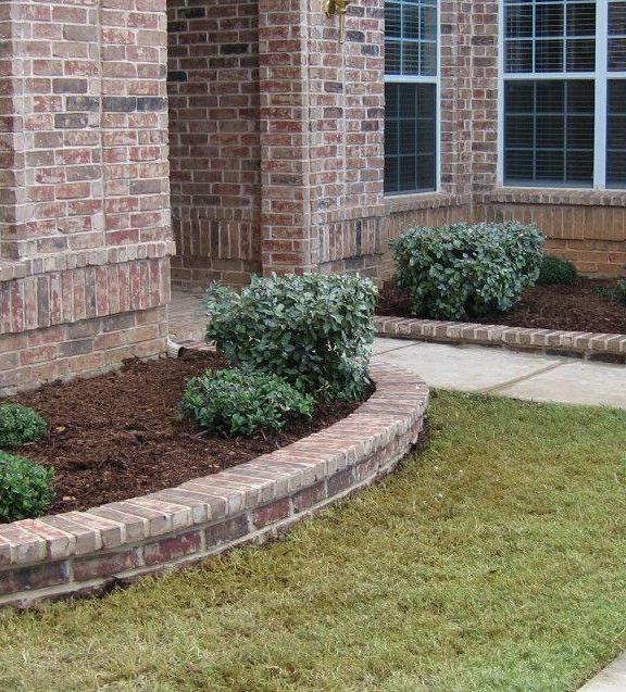 Landscaping Ideas For Front Yard With Bricks