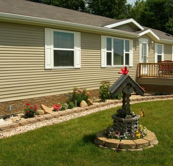 Landscaping Ideas Front Yard Mobile Home