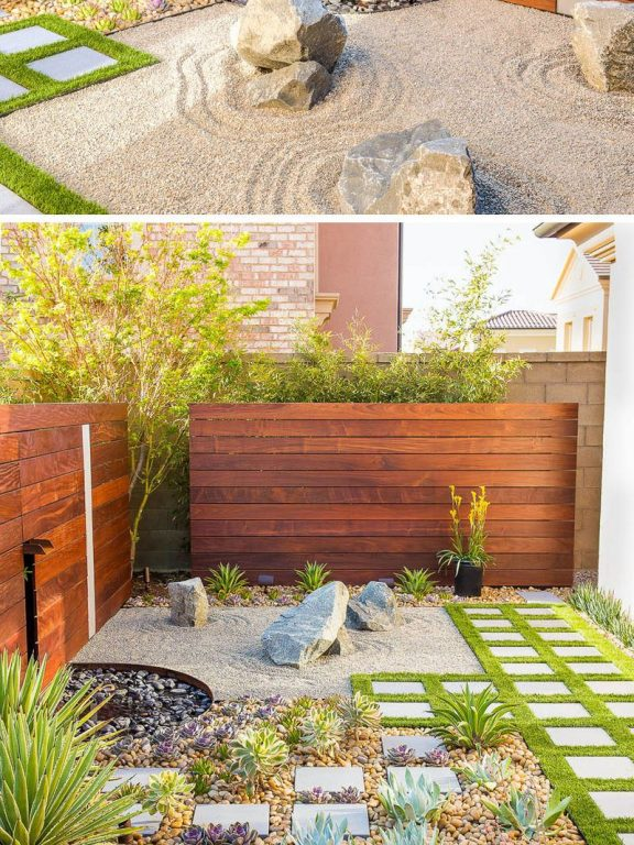 Zen Garden Backyard Design