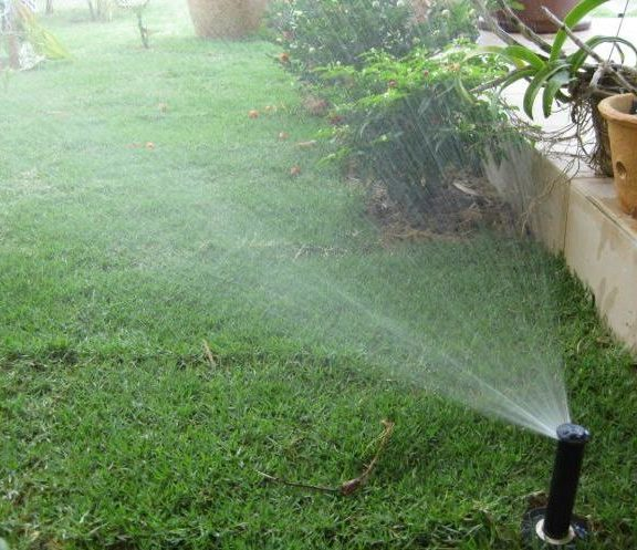 Automatic Garden Water Sprinkler System