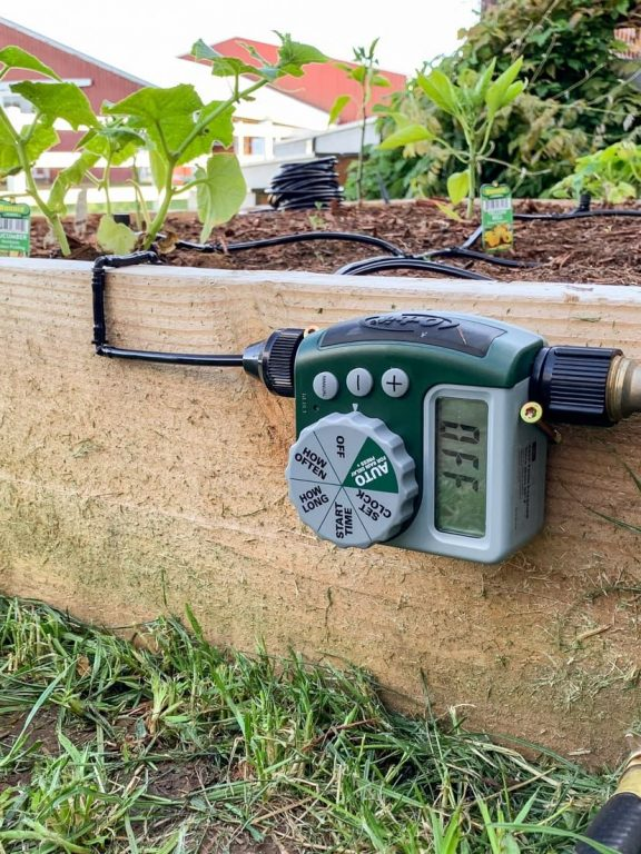 Automatic Irrigation For Garden