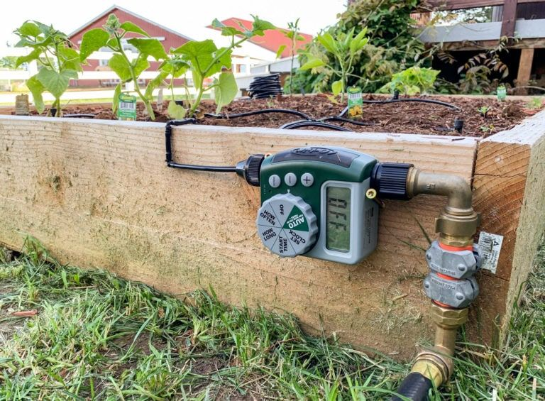 How To Install An Automatic Garden Watering System