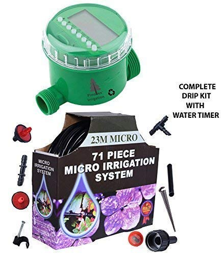 Pinolex Automatic Drip Irrigation System For Home Gardening
