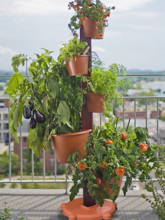 Vertical Garden System With Automatic Drip Irrigation Included