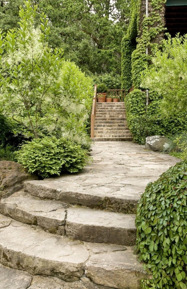 12 Of The Very Attractive Garden Landscaping Stepping Ideas regarding Landscape Back Yard Ideas
