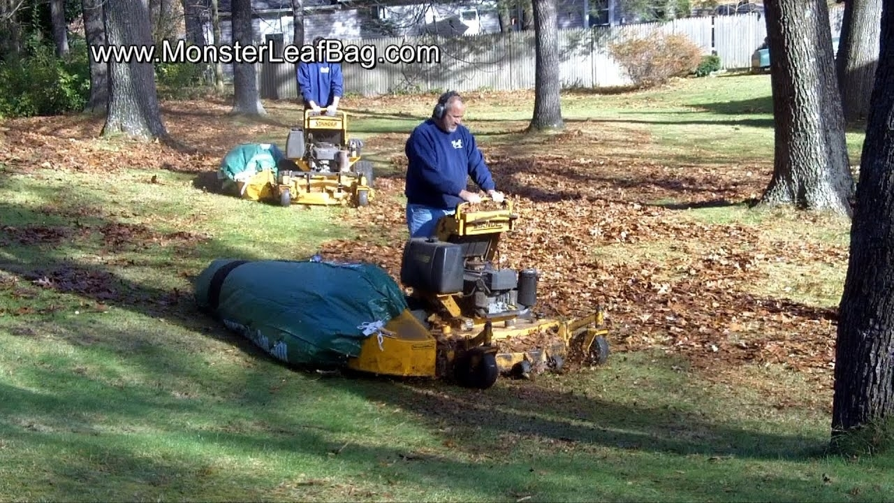 Leaf Removal, Lawn Clean Up, Leaf Vacuum System - Youtube with Landscape And Yard Clean Up